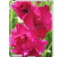 Pink Gladiolus iPad Case/Skin