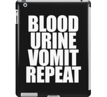 Brock Lesnar - Blood Urine Vomit Repeat iPad Case/Skin