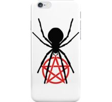 BLACK WIDOW PENTAGRAM iPhone Case/Skin