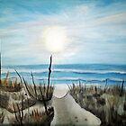 Folly - Folly Beach, South Carolina by Karen L Ramsey