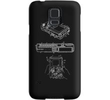 US Patent Poster - Compact hand-held video game system Samsung Galaxy Case/Skin