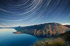 Lake Hawea startrails 1 by focuscreative