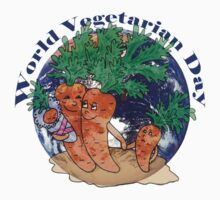 World Vegetarian Day Kids Clothes