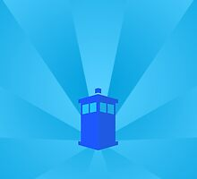 TARDIS Blueish! by Zekrom9