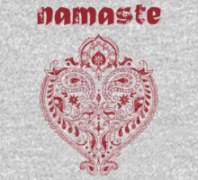 Namaste Indian Heart  by ArtVixen