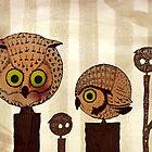 Owls by djrbennett