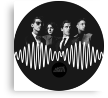 AM - Arctic Monkeys Canvas Print