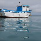 Fishing Boat - San Cristobal Island, Ecuador by David Galson