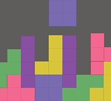 Decent Game of Tetris by CastleDownpour