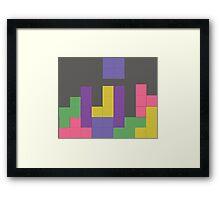 Decent Game of Tetris Framed Print