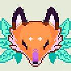 Fox Head  by carbatine