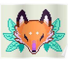 Fox Head  Poster
