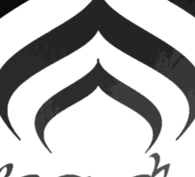 Warframe Lotus Sticker