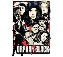 Orphan Black - Noir Photographic Print