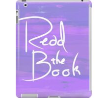 Read the Book iPad Case/Skin