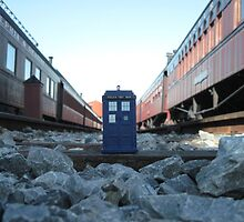 TARDIS Railroad by bplavin