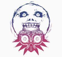 Majora's mask - Colour Gradient  T-Shirt