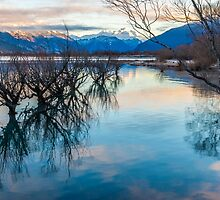 Glenorchy Reflection by Adrian Alford Photography