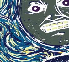 Starry Night in Termina Sticker