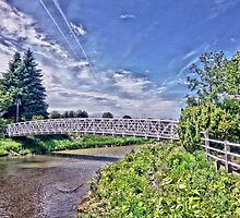 Over the Bridge by Ed Warick