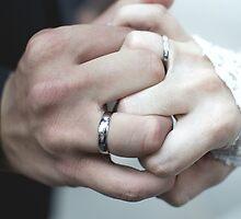 Wedding Day - Interlocked Ring Fingers by olisandler