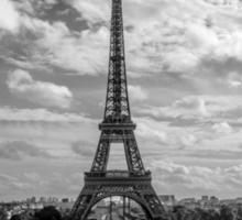 Paris, Eiffel Tower from Trocadero Sticker