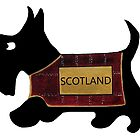 Commonwealth Games Opening Ceremony Scottie Dog 'Scotland' by archyscottie