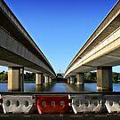 Commonwealth Bridge in Canberra/ACT/Australia by Wolf Sverak