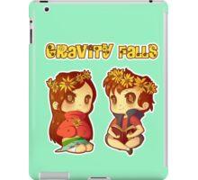 Flower Power Pines Twins iPad Case/Skin