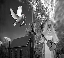 OH I'D LIKE TO GO BACK TO THAT OLD COUNTRY CHURCH-AND HEAR THE SONGS OF PRAISE - PICTURE/CARD by ╰⊰✿ℒᵒᶹᵉ Bonita✿⊱╮ Lalonde✿⊱╮