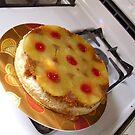 pineapple upsidedown cheesecake by wormink