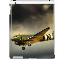 Battle of Britain memorial flight Dakota  iPad Case/Skin