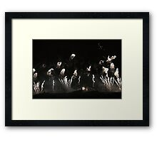 Edinburgh Festival Fireworks Edinburgh Castle Framed Print