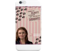 My Teenwolfed Valentine [I Would Do Plenty of Sucking Just For Your Benefit] iPhone Case/Skin