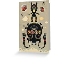 Monstertrap Greeting Card