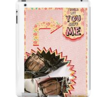 My Teenwolfed Valentine[I'd Let You Sniff Me] iPad Case/Skin