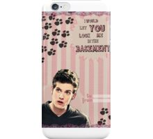 My Teenwolfed Valentine[I Would Let You Lock Me] 2 iPhone Case/Skin