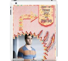 My Teenwolfed Valentine[None Of These Fit] iPad Case/Skin