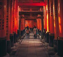 Fushimi Inari Shrine by kotchenography