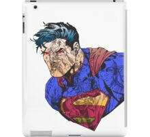 The Man of Steel Character Collage iPad Case/Skin