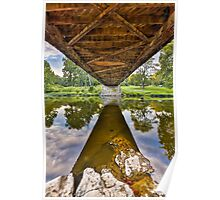 Covered Bridge Underbelly Poster