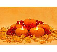 """Then We Had Pumpkin Pie"" Photographic Print"