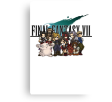 Final Fantasy Vll Canvas Print