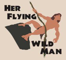 Disney's Tarzan - Her Flying WIld Man Couples Shirt for Him by rockinbass85