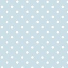 Polka Dots, Spots (Dotted Pattern) - Blue White  by sitnica