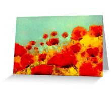 Poppy time'... Greeting Card