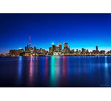 Toronto Skyline 4 Photographic Print