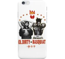Ol' Dirty Bastard x Basquiat  iPhone Case/Skin