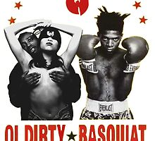 Ol' Dirty Bastard x Basquiat  by swsw