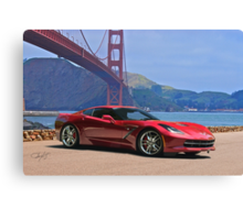 2014 Chevrolet Corvette Stingray Canvas Print